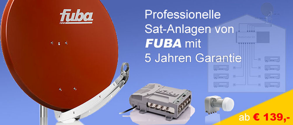 Sat-Anlage Satellitentechnik