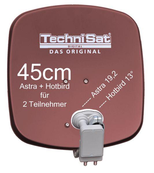 technisat digidish 45r mbt sat anlage komplett astra hotbird. Black Bedroom Furniture Sets. Home Design Ideas