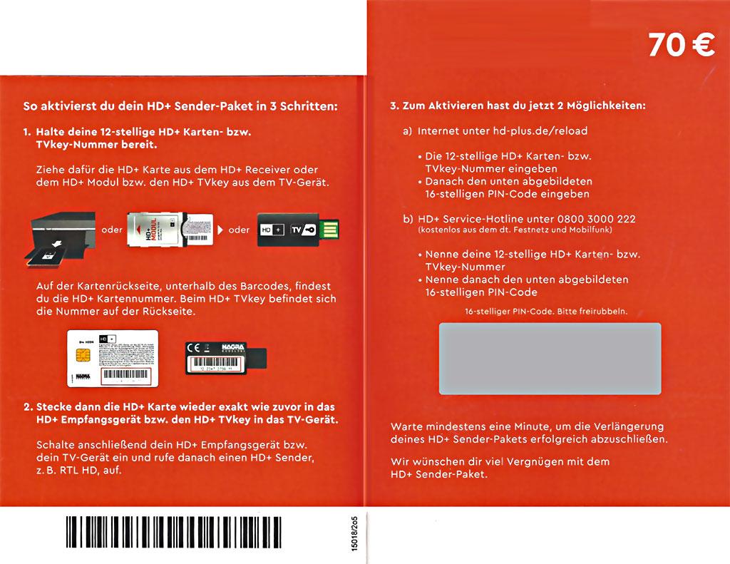 Hd Plus Karte Aktivieren.Hd Plus Verlängerung 12 Monate Sofort Pin Code Per E Mail Für Alle Karten Verlängern Sat Empfang