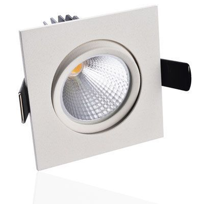 Luxna Lighting  Downlight LED schwenkbar weiß 400lm dimmbar