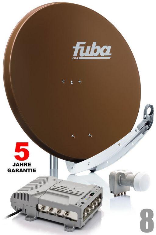 fuba profi85 hd08b sat anlage komplett f r 8 teilnehmer. Black Bedroom Furniture Sets. Home Design Ideas
