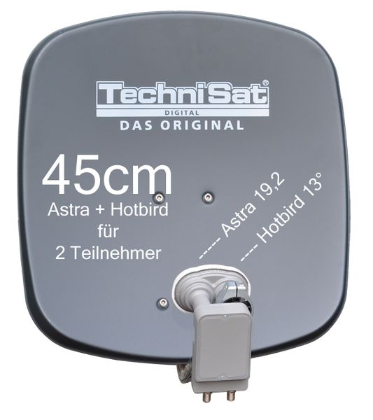 technisat digidish 45a mbt sat anlage komplett astra hotbird. Black Bedroom Furniture Sets. Home Design Ideas