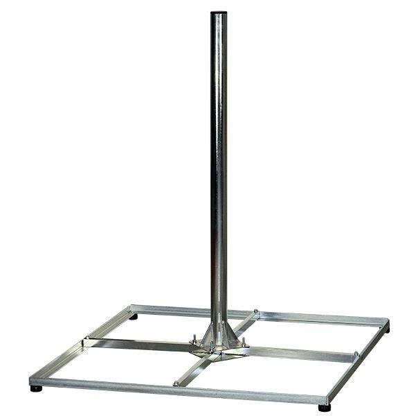 sat standfu flachdachst nder balkonst nder h 120 cm 60 mm. Black Bedroom Furniture Sets. Home Design Ideas