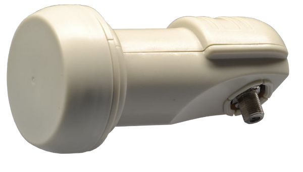 TechniSat TechniPlus Universal 0017-8194 Single LNB, 3D & 4K ready für 1 Anschluss