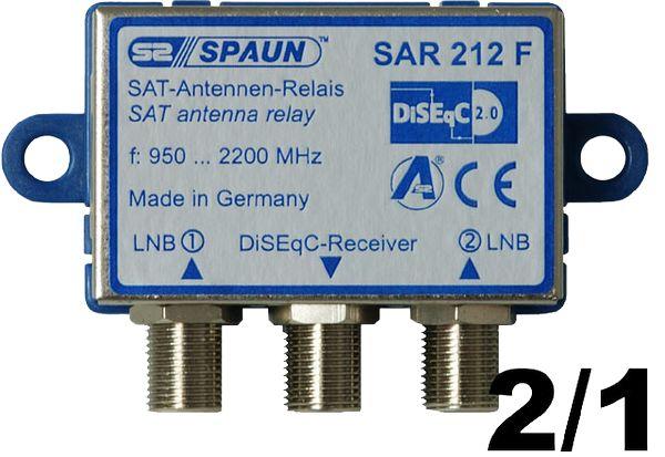 diseqc schalter 2 1 diseqc umschalter 2 satelliten f r 1 teilehmer. Black Bedroom Furniture Sets. Home Design Ideas