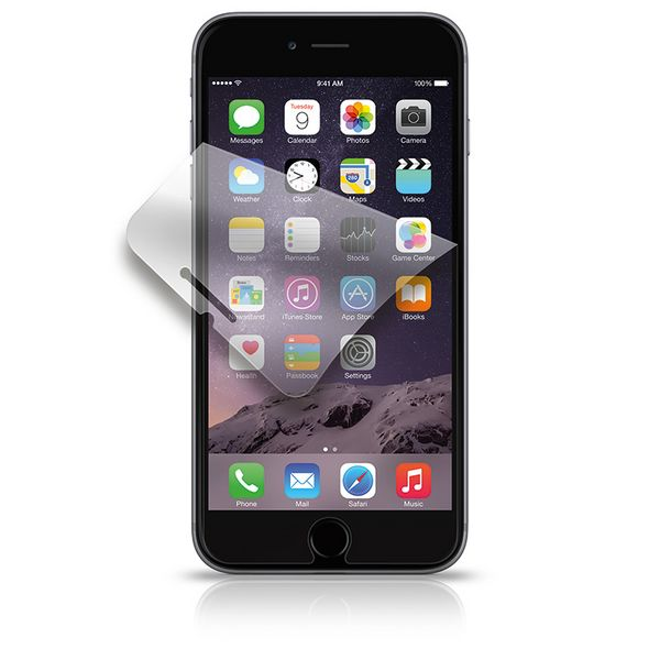 Goobay 40803 Displayschutzfolie für iPhone 6 Plus, Set mit 2 Folien