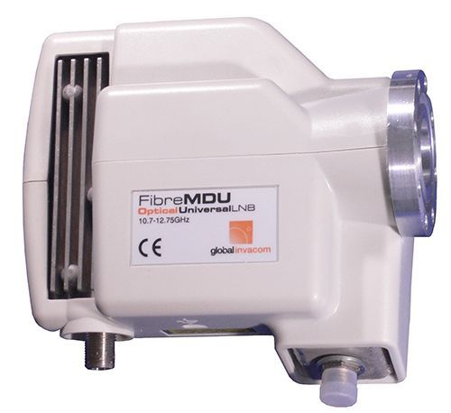 Fibre LNB Global Invacom C-120 Flansch Version