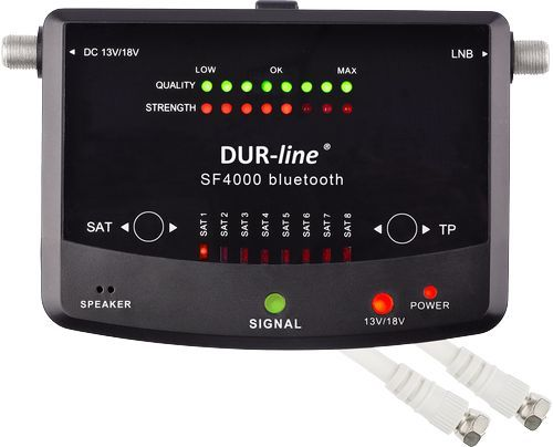 DUR-line SF 4000 BT Sat Finder / Satellitenmessgerät