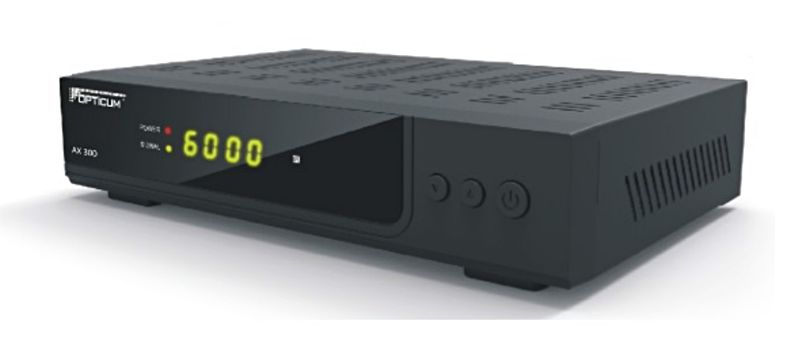 Opticum HD AX 300 Plus  HDTV Sat Receiver