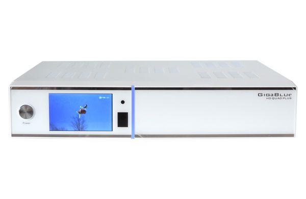 gigablue hd quad plus hdtv sat receiver wei hd quad plus wei. Black Bedroom Furniture Sets. Home Design Ideas