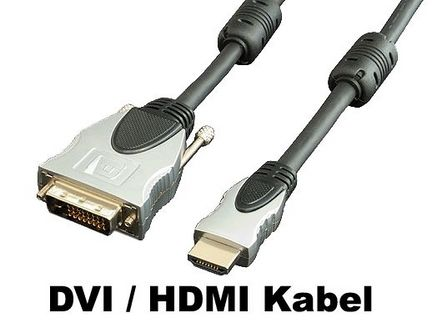 Transmedia C197-3M  High Quality HDMI/DVI Monitorkabel 3 m