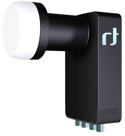 Inverto Black Ultra IDLB-QUTL40 Quattro LNB, 3D & 4K ready, für Multischalterbetrieb