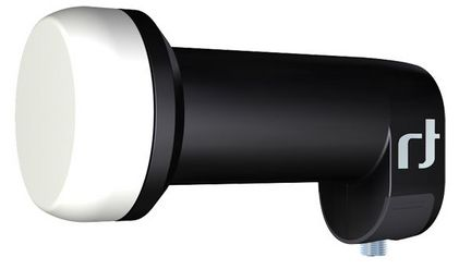 Inverto Black Ultra IDLB-SINL40-ULTRA-OPP  Single LNB High Gain 3D & 4K ready für 1 Anschluss