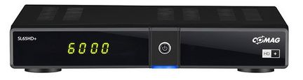 Comag SL65 HD+ HDTV Sat Receiver, schwarz, incl. 6 Monate HD Plus Karte