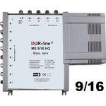 DUR-line MS 9/16 HQ Multischalter 9/16, 2Satelliten