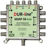 Multischalter 5/8 - DUR-line MSRP 58eco für 8Teilnehmer