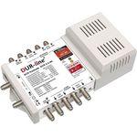 DUR-line DCR 5-2-4-K Unicable Einkabel Multischalter, Kaskade