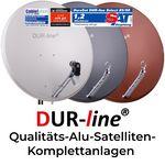 DUR-line  - Qualitäts-Alu-Satelliten-Komplettanlage