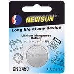 XMediasat CR2450 Lithium Batterie Knopfzelle, Knopfzellen, CR2450