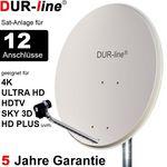 DUR-line Select 90512G Sat-Anlage komplett, für 12Teilnehmer