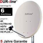 DUR-line Select 9056G Sat-Anlage komplett, für 6Teilnehmer
