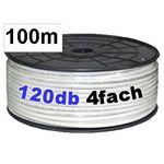 100m Antennenkabel - Transmedia KH120-100