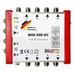 Bauckhage BMS508DC Multischalter 5/8 ohne Netzteil, für 8Teilnehmer