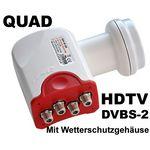 Bauckhage BW40QS Quad LNB, 3D & 4K ready, für 4Teilnehmer