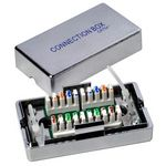 8 Stück - Wentronic 50481 Cat5e Connection Box / Verbinder /