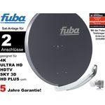 2Teilnehmer Sat-Anlage - Fuba Profi85 DEK206A