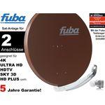 2Teilnehmer Sat-Anlage - Fuba Profi85 DEK206B