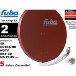 Fuba Profi85 DEK206R Sat-Anlage komplett, für 2Teilnehmer