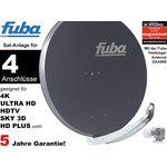 4Teilnehmer Sat-Anlage - Fuba Profi85 DEK417A