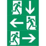 Luxna Lighting  Piktogramm für Not-/Hinweisleuchte Ausgang