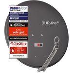 80cm Satellitenschüssel - DUR-line Select 75/80 A