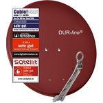 DUR-line Select 75/80 R Satellitenschüssel, Sat Antenne