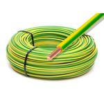 50 Meter - Erdungsdraht / Aderleitung 1x 4mm² grün/gelb