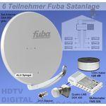 Fuba SProfi85 HS06G Sat-Anlage komplett, für 6Teilnehmer