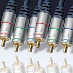 Clicktronic HC 400-500 Clicktronic YUV-Komponenten-Kabel, 5m
