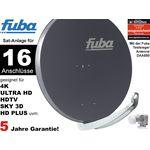 16Teilnehmer Sat-Anlage - Fuba Profi85 HD16A