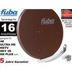 16Teilnehmer Sat-Anlage - Fuba Profi85 HD16B