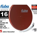 16Teilnehmer Sat-Anlage - Fuba Profi85 HD16R