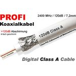 25 Meter - Koaxialkabel Bauckhage Profi SAT120-136