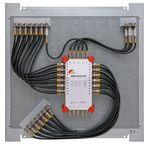 Multischalterpanel 5/24 - XmediaSat MP-BMS5024DC für 24Teilnehmer