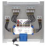 Multischalterpanel 17/8 - XmediaSat MP-DMS1708 für 8Teilnehmer