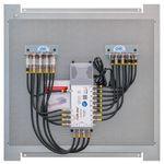 Multischalterpanel 9/8 - XmediaSat MP-DMS98 für 8Teilnehmer