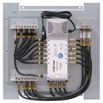 Multischalterpanel 5/12 - XmediaSat MP-DMS512 für 12Teilnehmer