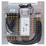 Multischalterpanel 5/16 - XmediaSat MP-DMS516 für 16Teilnehmer