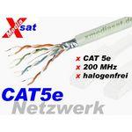 100 Meter - Transmedia TK17-100L-M  Netzwerkkabel / Verlegekabel