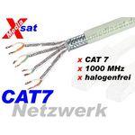 30 Meter - PIMF Netzwerkkabel  / Verlegekabel / CAT7, halogenfrei